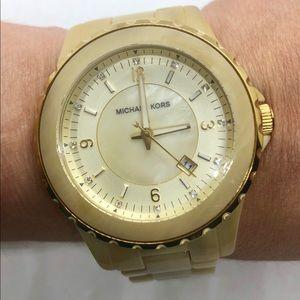 Michael Kors MK-5299 50m Faux Marble Quartz Watch